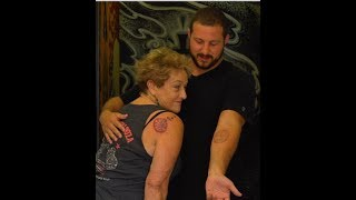 76 Year old grandma gets her first tattoo