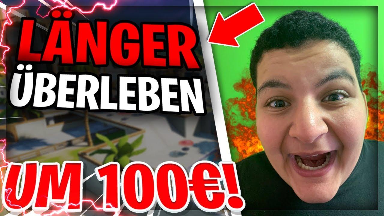 💸LÄNGER ÜBERLEBEN IN SWEATY SANDS *UM 100€* GEGEN BERO! | Wick Brothers Gaming