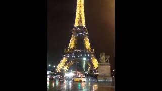 Tour eiffel Parigi natale 2013