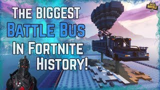 BIGGEST BATTLE BUS In Fortnite History [WITH CODE] Fortnite Creative