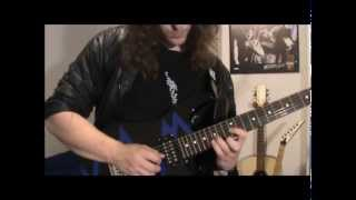 Lick #12 - Metal Legato Sequence in F# Phrygian Dominant + TAB