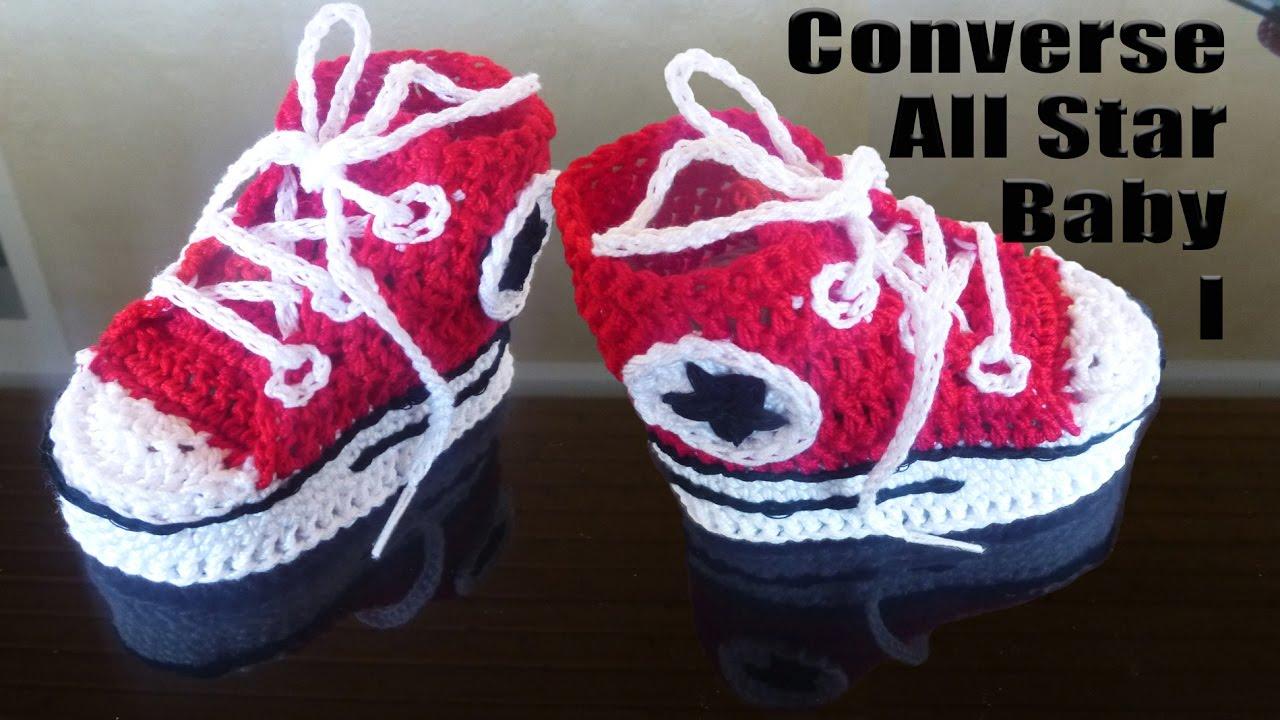 Babyschuhe Converse All Star Baby Sneakers Für Neugeborenen Häkeln