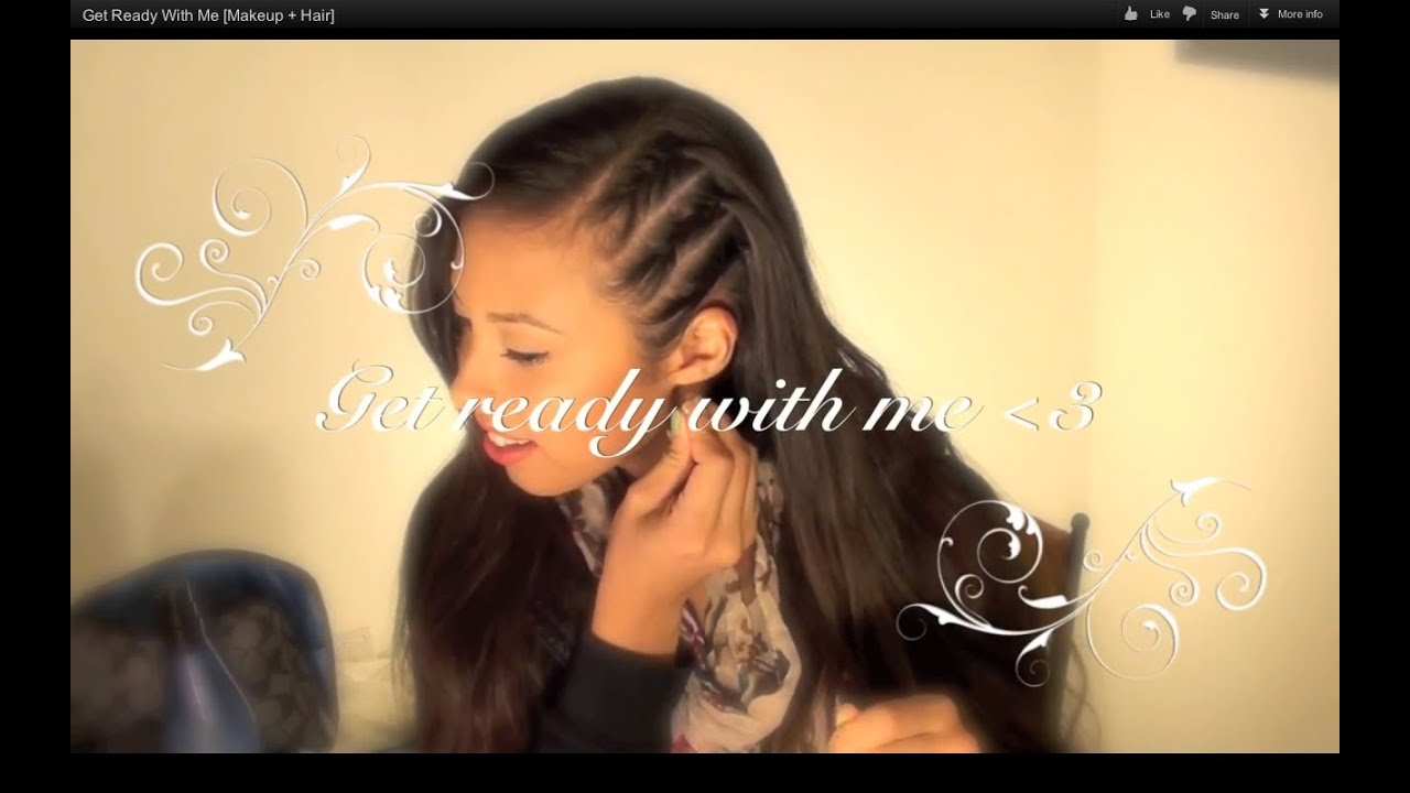 Get Ready With Me Makeup Hair YouTube