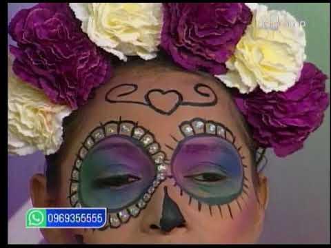 Aprenda a realizar un maquillaje de Catrina para Halloween