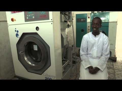 Somalia is Open for Business -- Laundry Man