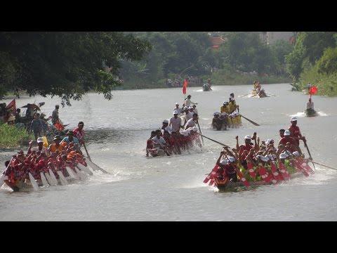 [Lễ hội bơi, đua thuyền truyền thống trên sông Kiến Giang] 30-8-14-Thuong tieu