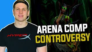 The Most Controversial Arena Comp of Patch 7.3 - World of Warcraft Legion - Hogman