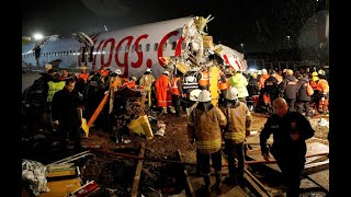 Runway Overrun Istanbul, Turkey Pegasus 2193 B737-8 UPDATE 6 Feb