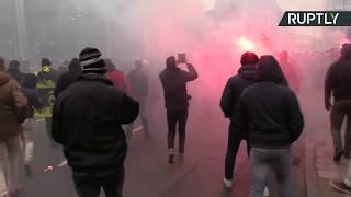 В Брюсселе протестуют против Глобального договора о миграции