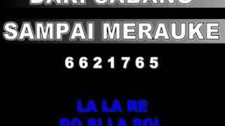 Gambar cover NOT LAGU DARI SABANG SAMPAI MERAUKE - CIPT.R SURARJO