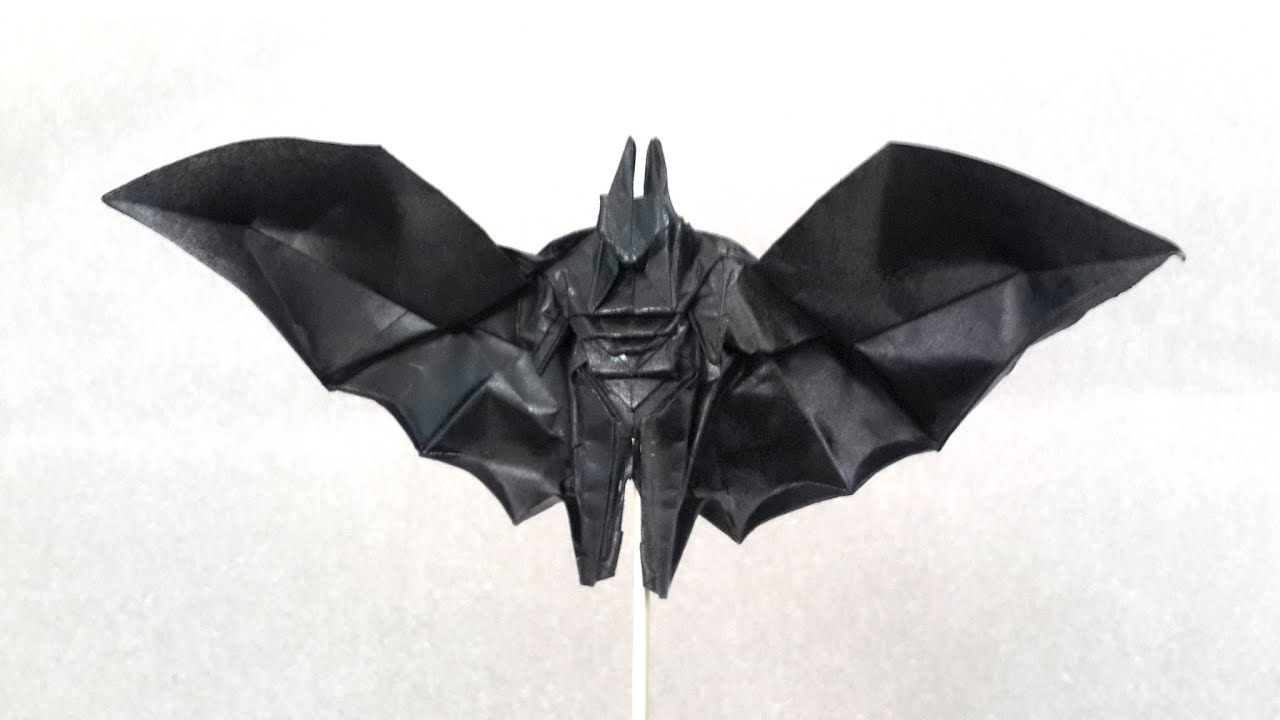 Origami Batman Teaser Henry Phm Youtube