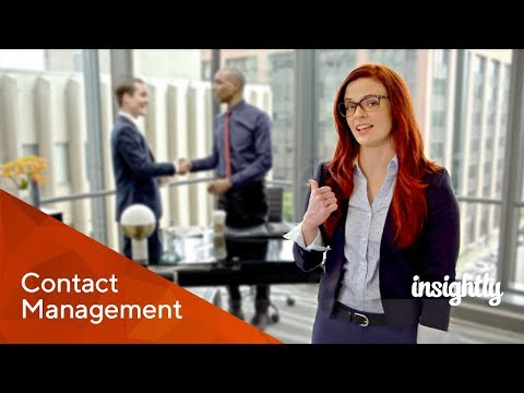 Insightly CRM - Contact Management
