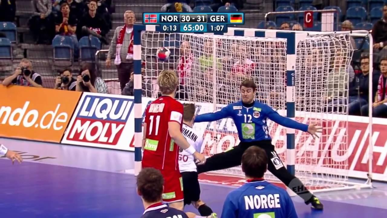 Handball EM Die Top 5 Tore Deutschland gegen Norwegen | Sportschau