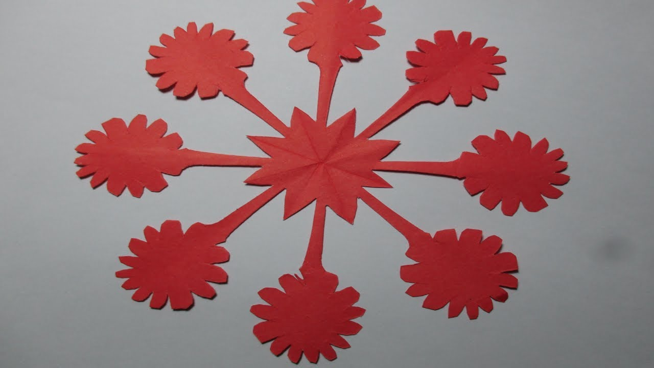 How to make simple easy paper cutting flower designsorigami diy how to make simple easy paper cutting flower designsorigami diy origami tutorials step by step mightylinksfo