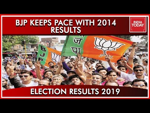 India Today&39;s Comparison Of BJP In  And 2019 Saffron Takes Over Again  Results 2019