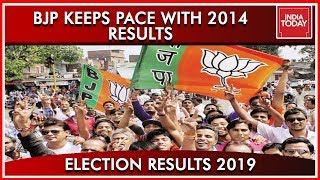 India Today's Comparison Of BJP In 2014 And 2019, Saffron Takes Over Again | Results 2019