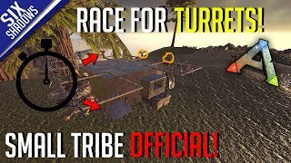 RACE FOR TURRETS! | Small Tribe PvP Official | Tribe Limit Servers - Ark: Survival Evolved
