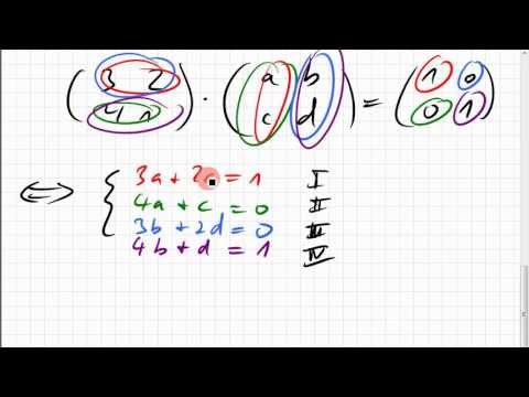how to find cofactor matrix 2x2