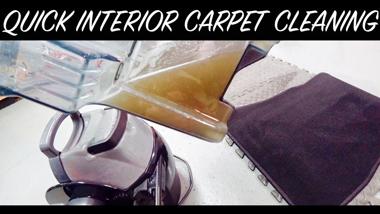 auto detail interior carpet cleaning auto fanatic youtube. Black Bedroom Furniture Sets. Home Design Ideas