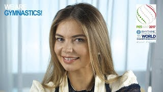 Meeting with the Ambassadors - Alina Kabaeva 2017 Rhythmic Worlds - We Are Gymnastics !