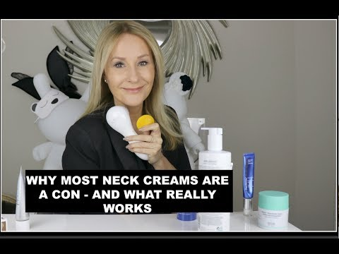 WHY MOST NECK CREAMS ARE A CON - AND WHAT REALLY WORKS TO FIRM A  JAWLINE