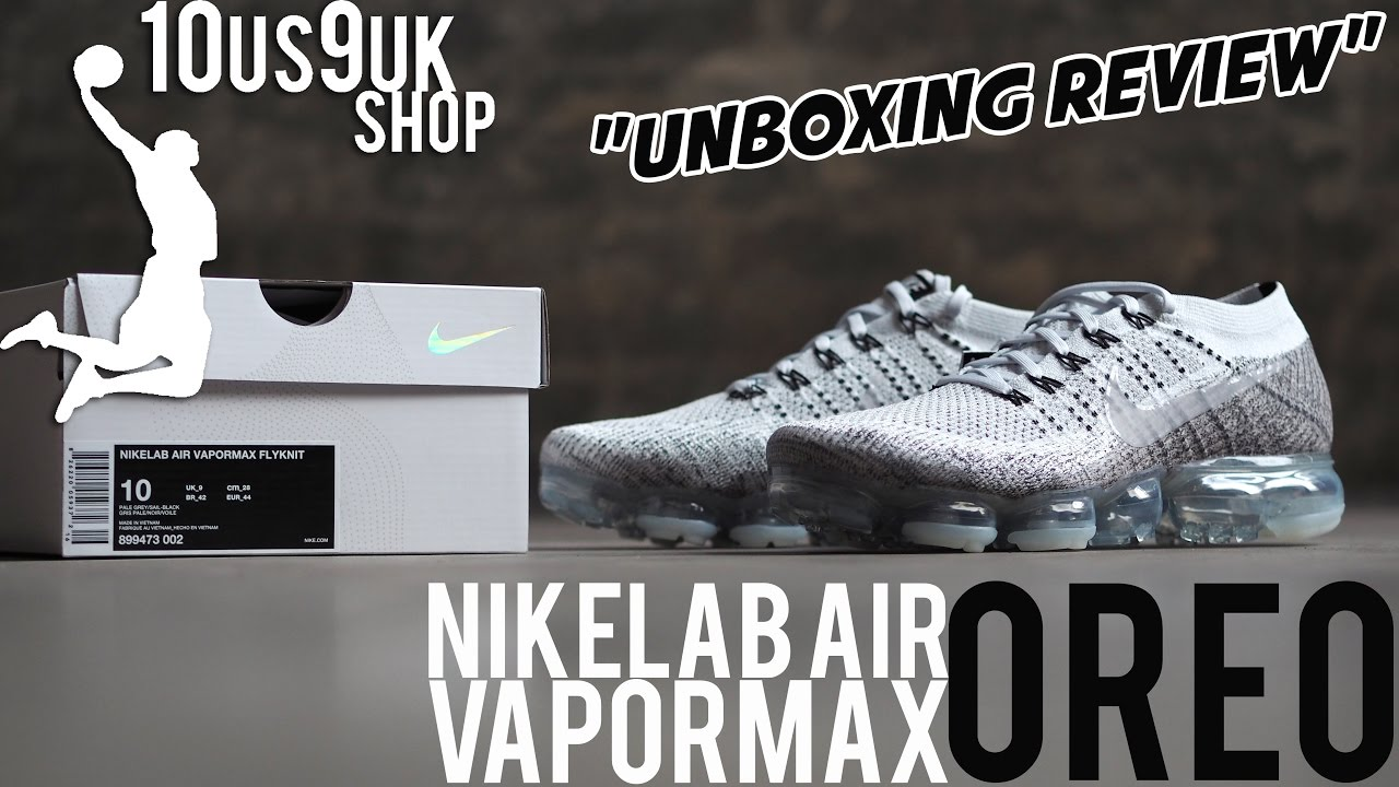 new concept af35f 73da9  Unboxing review  NikeLab Air VaporMax flyknit