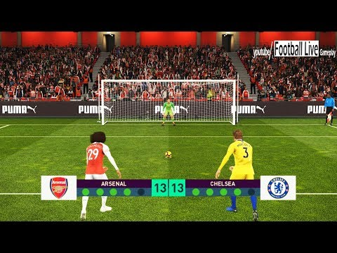 PES 2019 | Arsenal vs Chelsea FC | Penalty Shootout | Gameplay PC Mp3