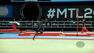 WHITTENBURG Donnell (USA) - 2017 Artistic Worlds, Montréal (CAN) - Qualifications Floor Exercise