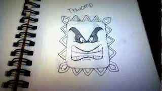 Drawings of Mario Bros. Characters