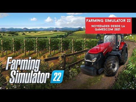Farming Simulator 22. Novedades presentadas en la #Gamescom 2021 | Gameit ES