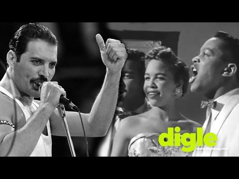 Freddie Mercury vs The Platters (Great Pretender)