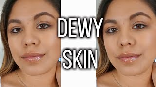 SPRING DEWY MAKEUP WITH AFFORDABLE PRODUCTS | WORK APPROPRIATE