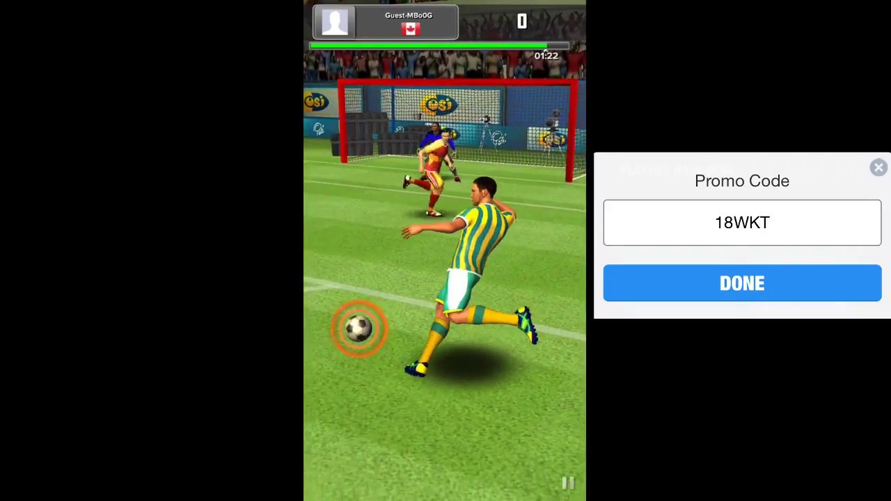 Soccer Blitz Promo Code and How to Play Tutorial