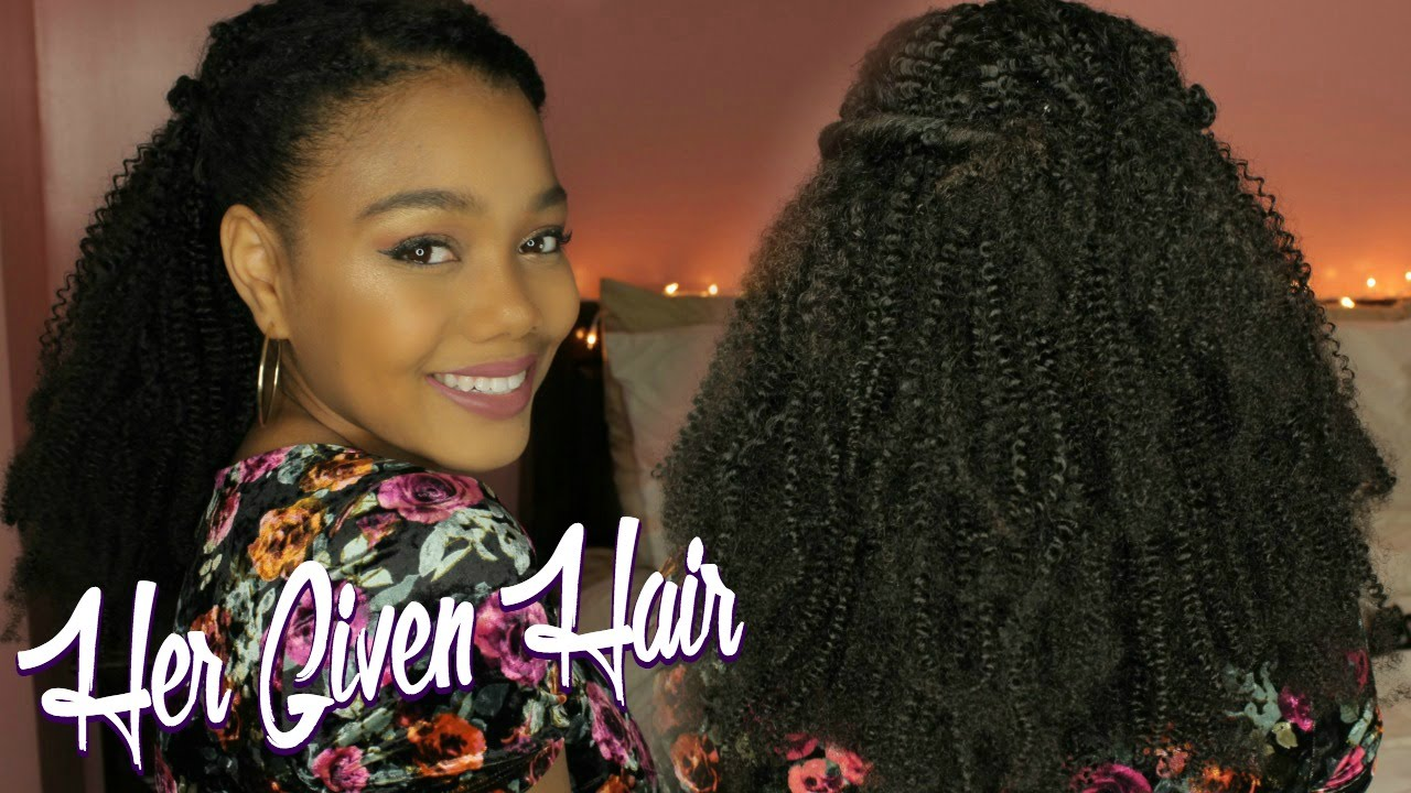 How To Install Clip Ins On Natural Hair