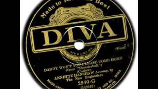 Annette Hanshaw - Daddy Won