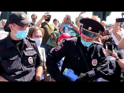 Хабаровск Протест. Новосибирск за Хабаровск. Путин вор