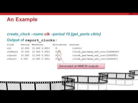 Creating Generated Clocks - YouTube