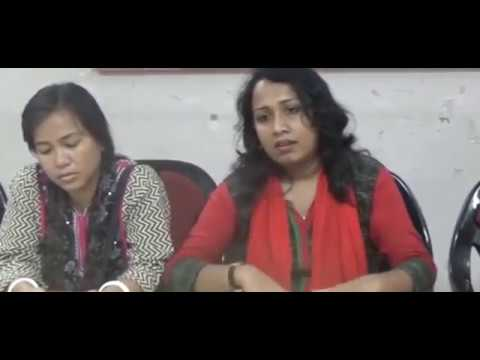 "All tripura Deprived Unemployed Association Press Meet ""NEWS VANGUARD"" Telecast news 1/4/2017"