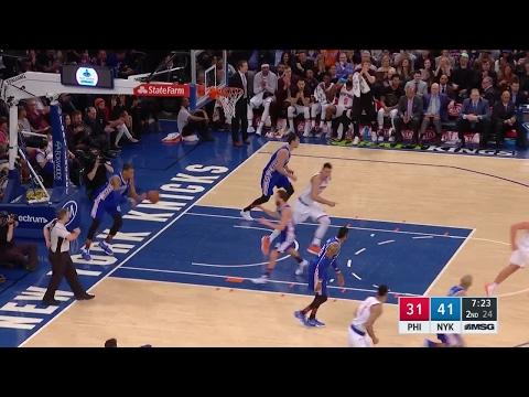 Quarter 2 One Box Video :Knicks Vs. 76ers, 2/25/2017 12:00:00 AM