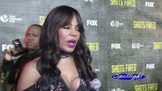 Sanaa Lathan, Mack Wilds Talk Police Violence, New Series 'Shots Fired' | Spotlight TV