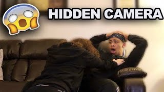 Hidden Camera Prank On Girlfriend **MUST WATCH**