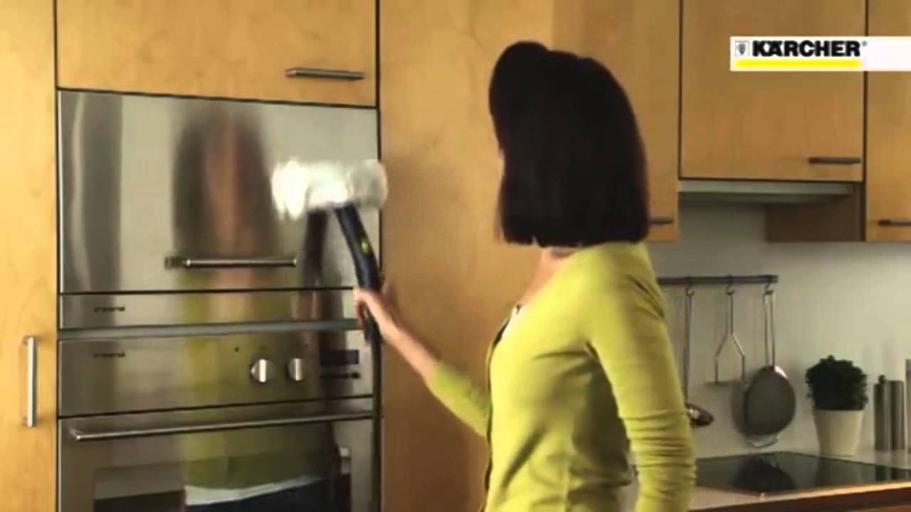 Тест пароочистителя Karcher SC 1.020 - YouTube