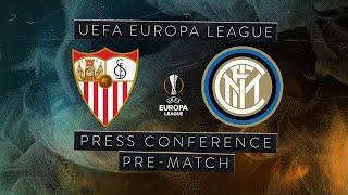 SEVILLA vs INTER | Pre-Match Press Conference Conte + Handanovic + Godin [SUB ENG] ⚫🔵🏆