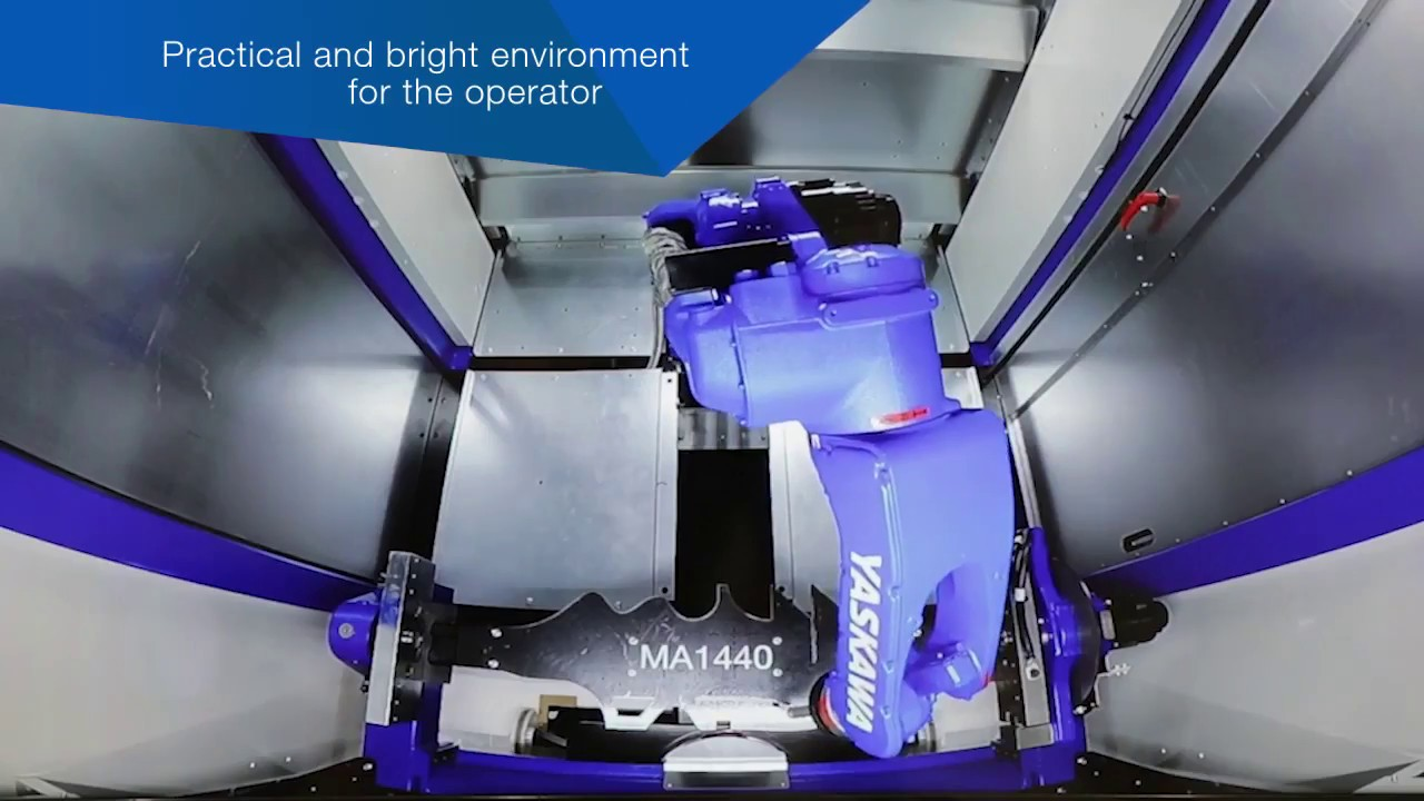 Compact Turnkey Robotic Arc Welding Cell Youtube