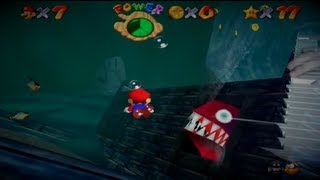 Relaxing Piano - Super Mario 64 Underwater Theme