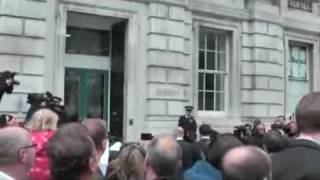 [Love Police] crashes Conservative Party Press Statement