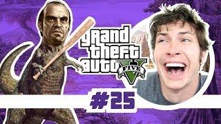Grand Theft Auto V - TREVOR IS A MURDERSAURUS - Part 25