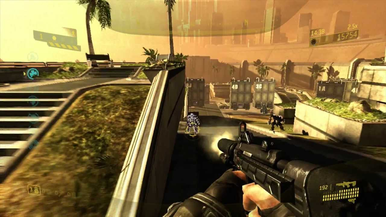 Halo 3 ODST Firefight Gameplay on Security Zone