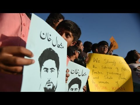 "Pakistanis reject mob lynching of Mashal Khan  ,""Law of the jungle can't prevail,"""