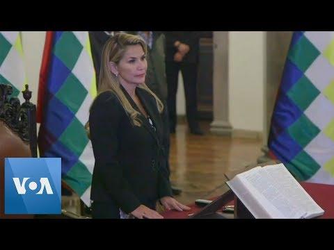 Bolivia's Interim President Appoints Cabinet